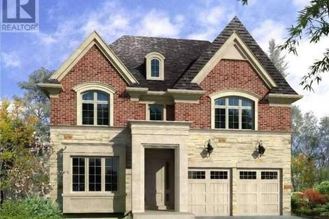 House for sale at Lot 5 Puccini Dr Richmond Hill Ontario - MLS: N4525796