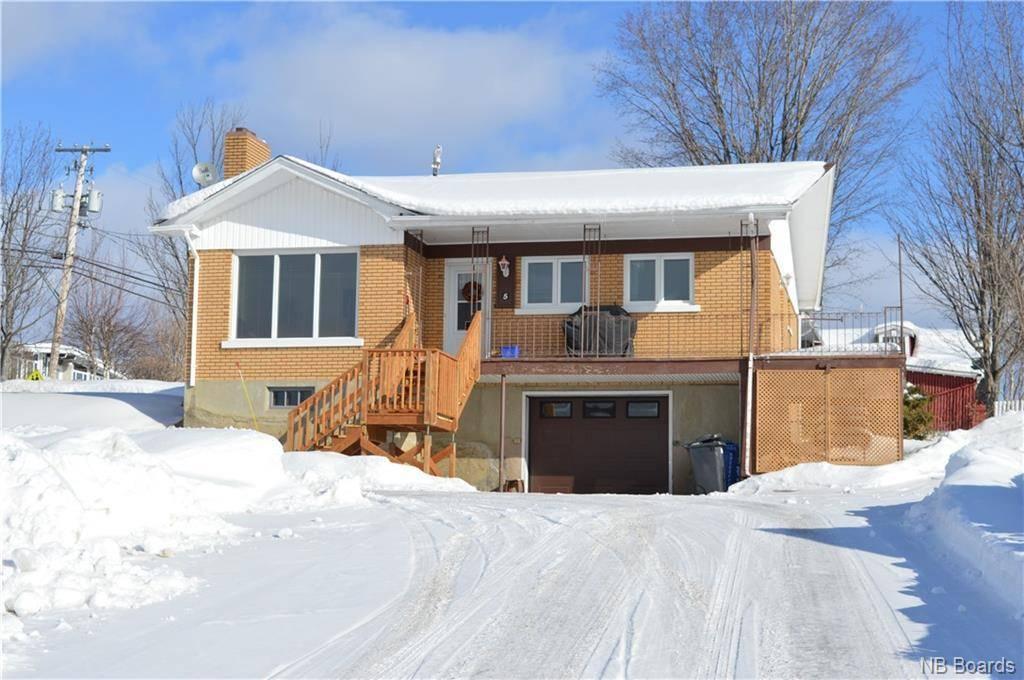 House for sale at 5 Martin Rd Sainte-anne-de-madawaska New Brunswick - MLS: NB040656