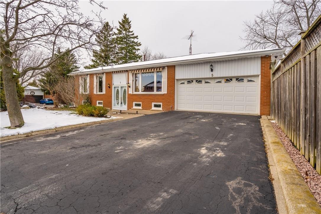 House for sale at 5 Milverton Cs Waterdown Ontario - MLS: H4094182