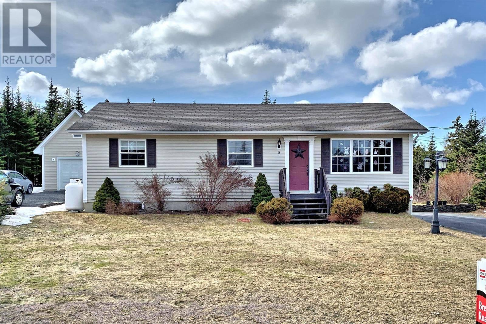 House for sale at 5 Mount Royal Estates Carbonear Newfoundland - MLS: 1208882