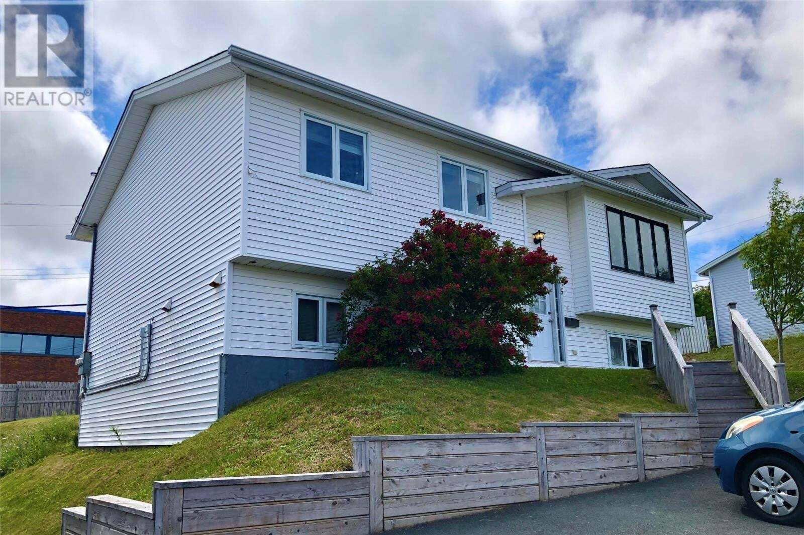House for sale at 5 Musgrave St St. John's Newfoundland - MLS: 1222611