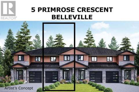 Townhouse for sale at 5 Primrose Cres Belleville Ontario - MLS: 254844