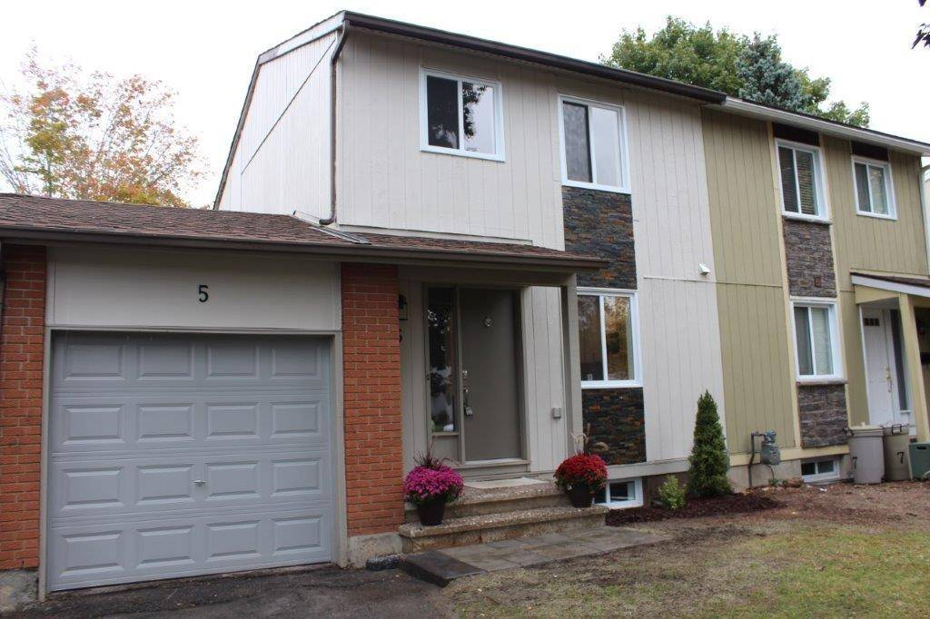 Townhouse for sale at 5 Providence Pl Ottawa Ontario - MLS: 1171560