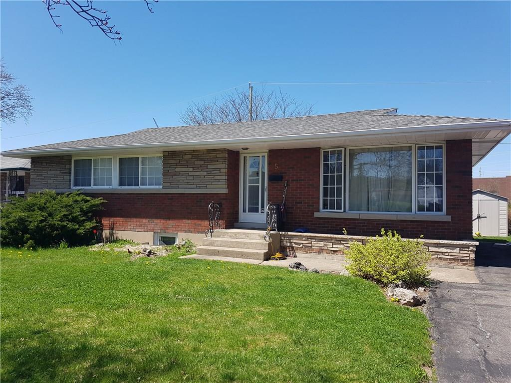 For Sale: 5 Radcliffe Road, St Catharines, ON | 6 Bed, 2 Bath House for $484,900. See 2 photos!