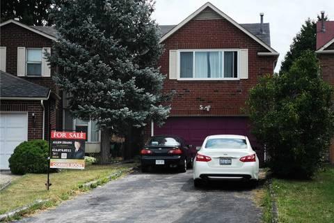 House for sale at 5 Sharrowbay Ct Toronto Ontario - MLS: E4550720