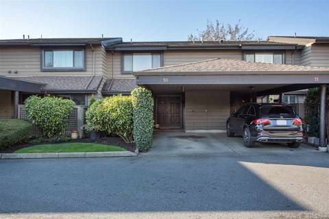Townhouse for sale at 10391 No 3 Rd No Unit 50 Richmond British Columbia - MLS: R2421934