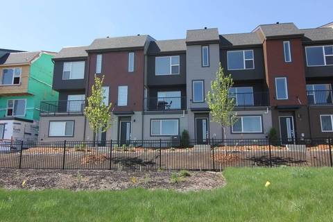 Townhouse for sale at 1075 Rosenthal Blvd Nw Unit 50 Edmonton Alberta - MLS: E4156241