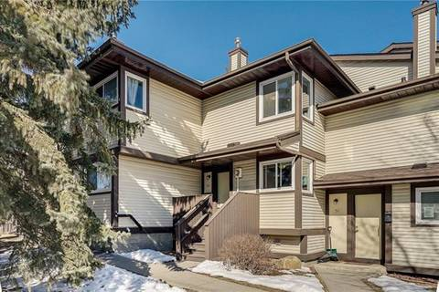 Townhouse for sale at 115 Bergen Rd Northwest Unit 50 Calgary Alberta - MLS: C4292166
