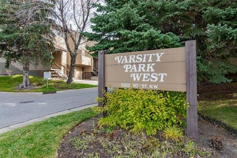 Townhouse for sale at 3302 50 St Northwest Unit 50 Calgary Alberta - MLS: C4271999