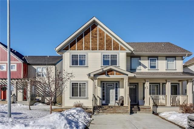 For Sale: 50 Copperpond Place Southeast, Calgary, AB | 3 Bed, 4 Bath Townhouse for $369,900. See 41 photos!