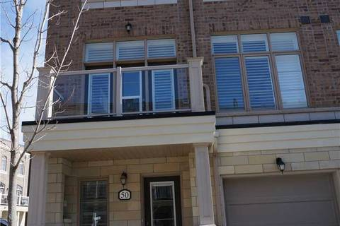 Townhouse for sale at 50 Cornerbank Cres Whitchurch-stouffville Ontario - MLS: N4416001