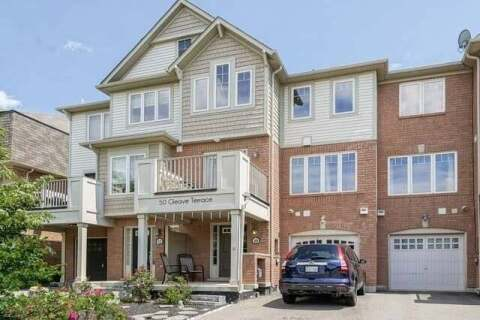 Townhouse for sale at 50 Gleave Terr Milton Ontario - MLS: W4808487