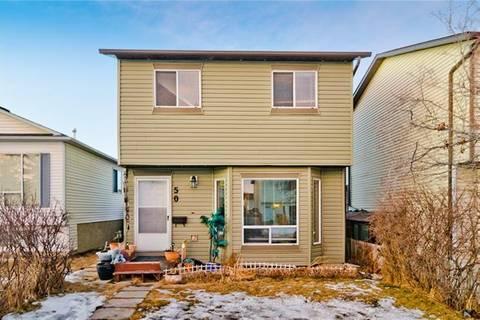 House for sale at 50 Martindale Me Northeast Calgary Alberta - MLS: C4288442