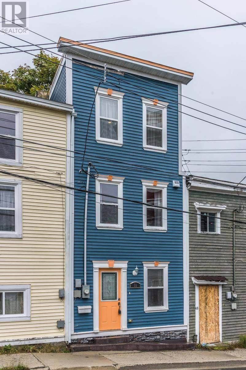 House for sale at 50 Pleasant St St. John's Newfoundland - MLS: 1205286