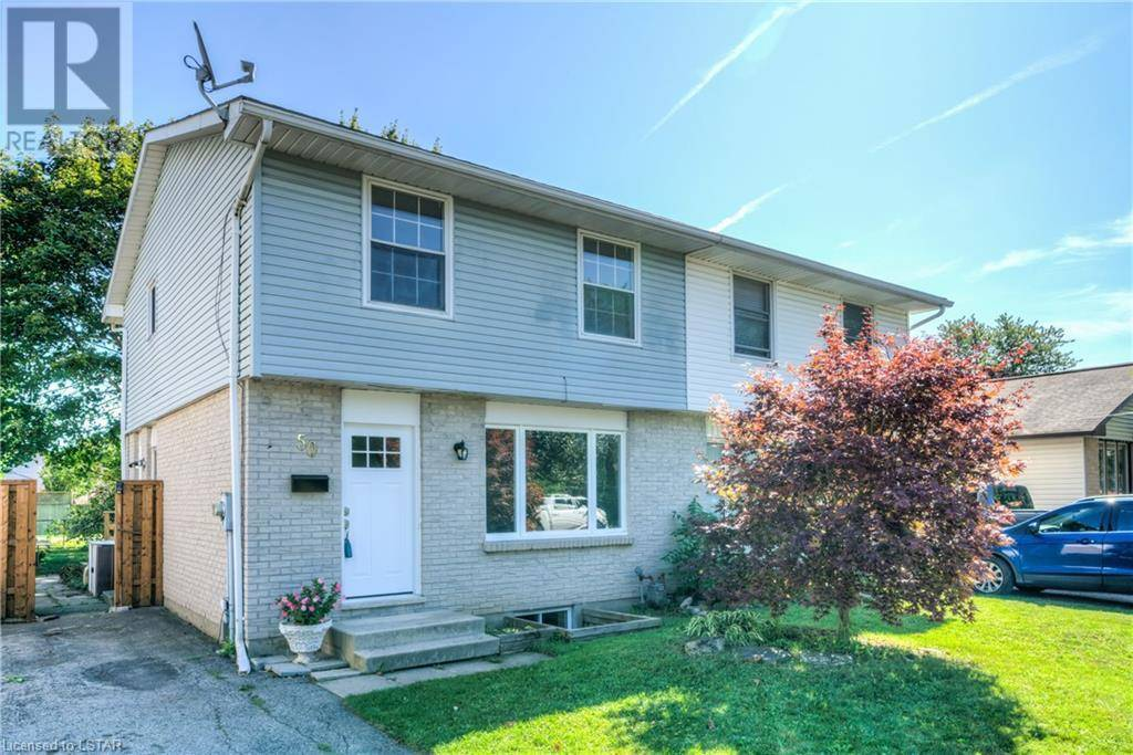 Home for sale at 50 Rosamond Cres London Ontario - MLS: 222641