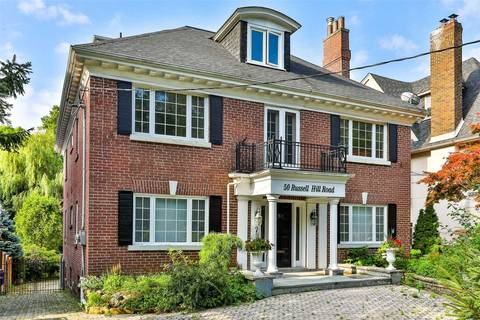 Townhouse for sale at 50 Russell Hill Rd Toronto Ontario - MLS: C4661992