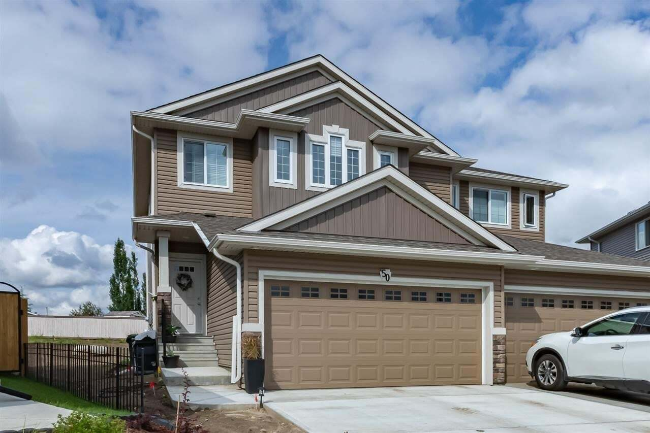 Townhouse for sale at 50 Sentry Wy Sherwood Park Alberta - MLS: E4202527