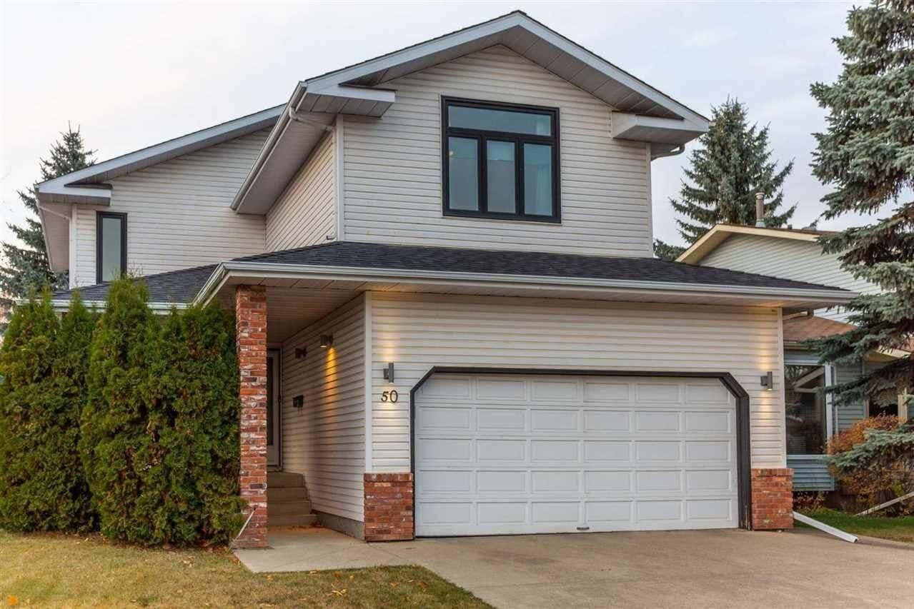 House for sale at 50 Wakina Dr NW Edmonton Alberta - MLS: E4218290
