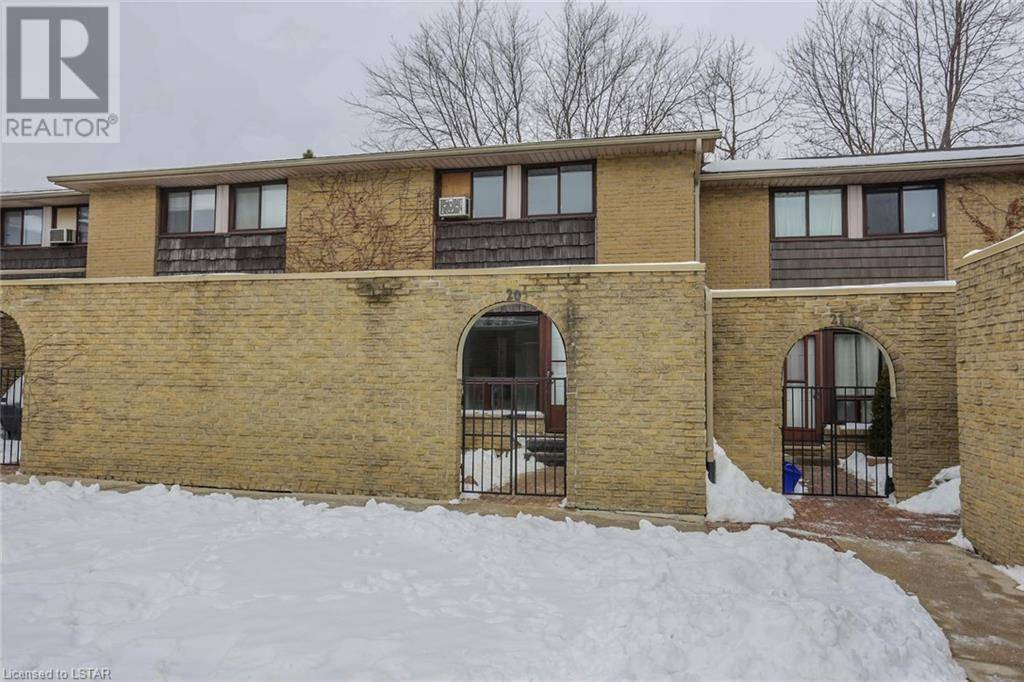 Townhouse for sale at 20 Southdale Rd East Unit 500 London Ontario - MLS: 241655