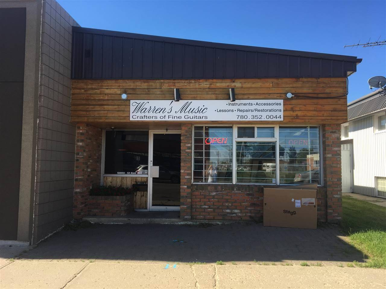 Commercial property for sale at 5003 51 Ave Wetaskiwin Alberta - MLS: E4118770