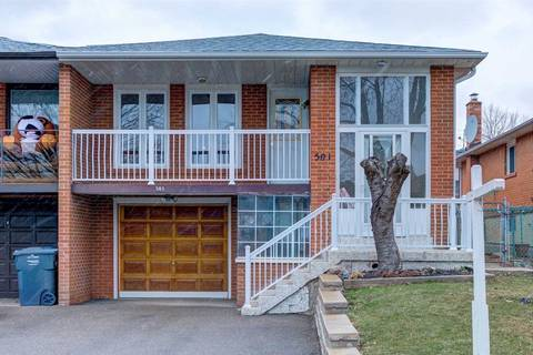 Townhouse for sale at 501 Fendalton St Mississauga Ontario - MLS: W4730457