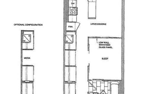 Apartment for rent at 197 Yonge St Unit 5011 Toronto Ontario - MLS: C4644901
