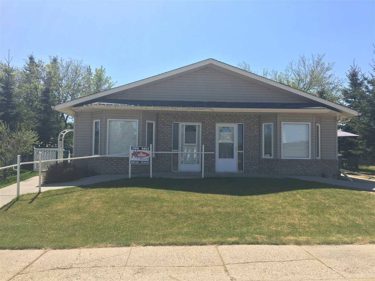Townhouse for sale at 5013 50 Ave Clyde Alberta - MLS: E4101831
