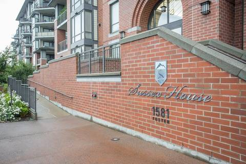 Condo for sale at 1581 Foster St Unit 502 White Rock British Columbia - MLS: R2390075