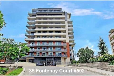 Condo for sale at 35 Fontenay Ct Unit 502 Toronto Ontario - MLS: W4930940