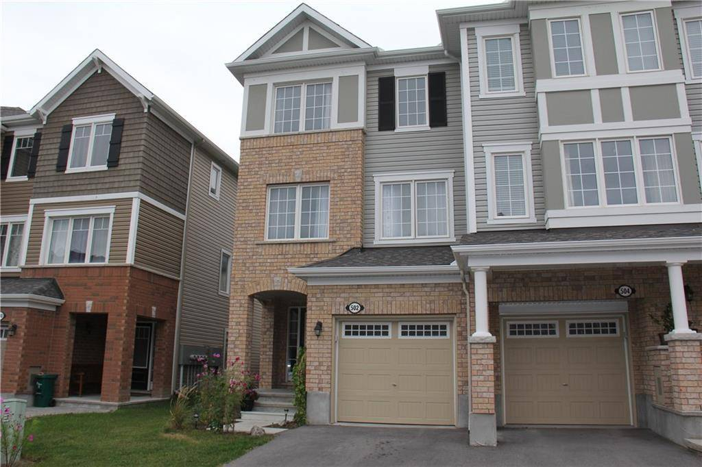 Townhouse for rent at 502 Coldwater Cres Ottawa Ontario - MLS: 1164852