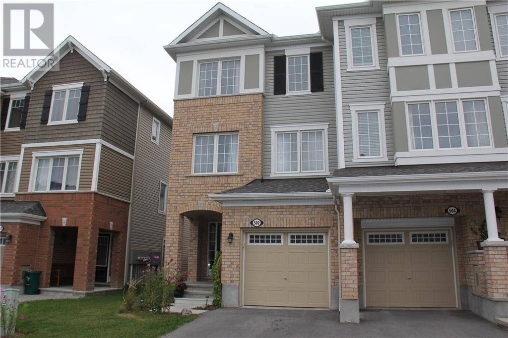 Townhouse for rent at 502 Coldwater Cres Ottawa Ontario - MLS: 1184341