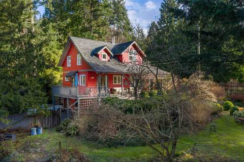 House for sale at 502 Crag's End Rd Bowen Island British Columbia - MLS: R2454725