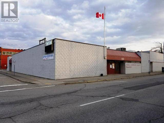 Commercial property for lease at 502 Martin St Penticton British Columbia - MLS: 175685