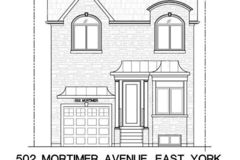 House for sale at 502 Mortimer Ave Toronto Ontario - MLS: E4963879