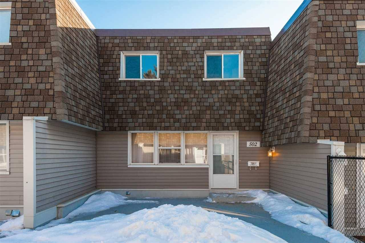 Townhouse for sale at 502 The Gr Nw Edmonton Alberta - MLS: E4188550