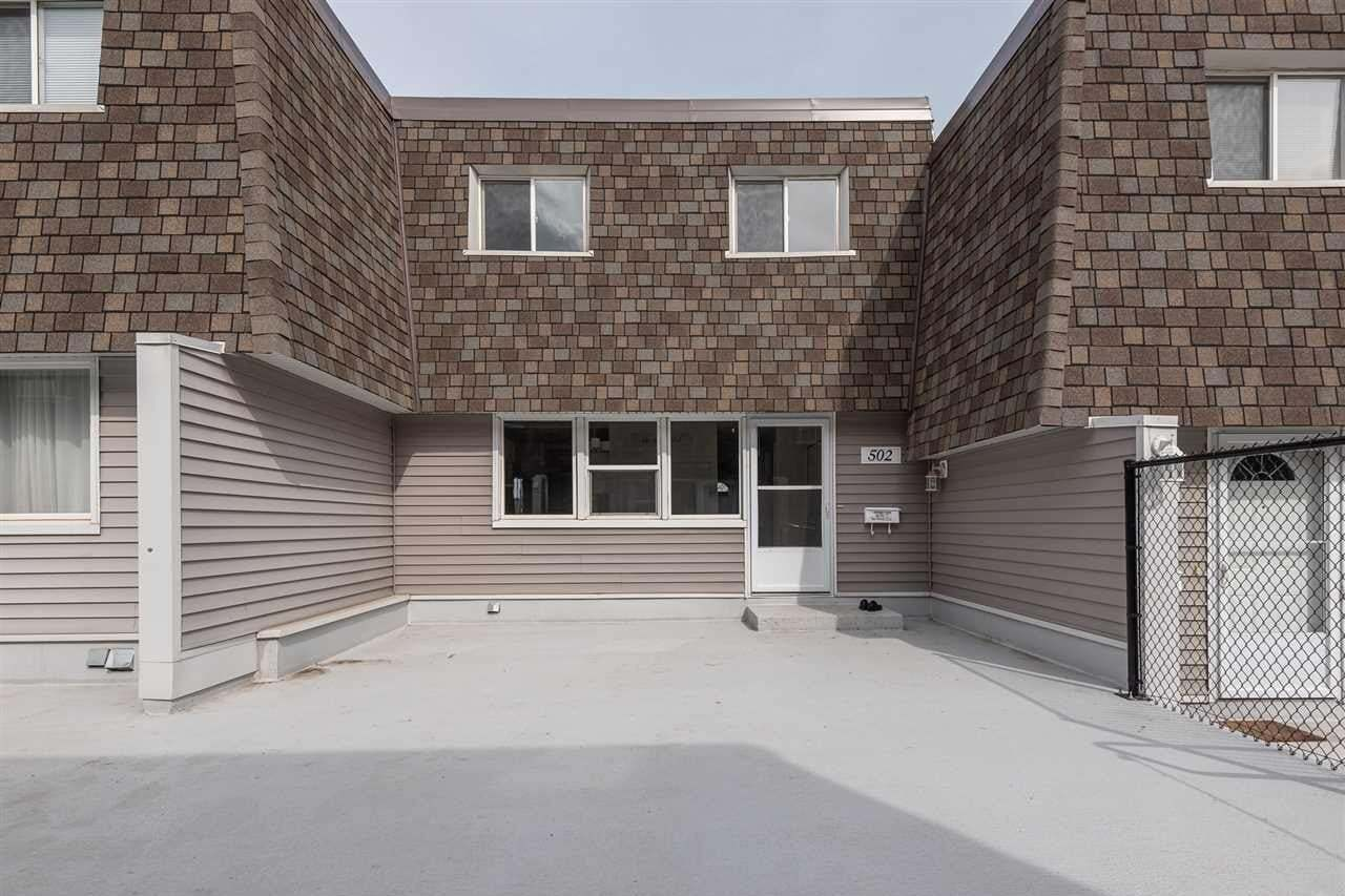 Townhouse for sale at 502 Village On The Gr NW Edmonton Alberta - MLS: E4199277