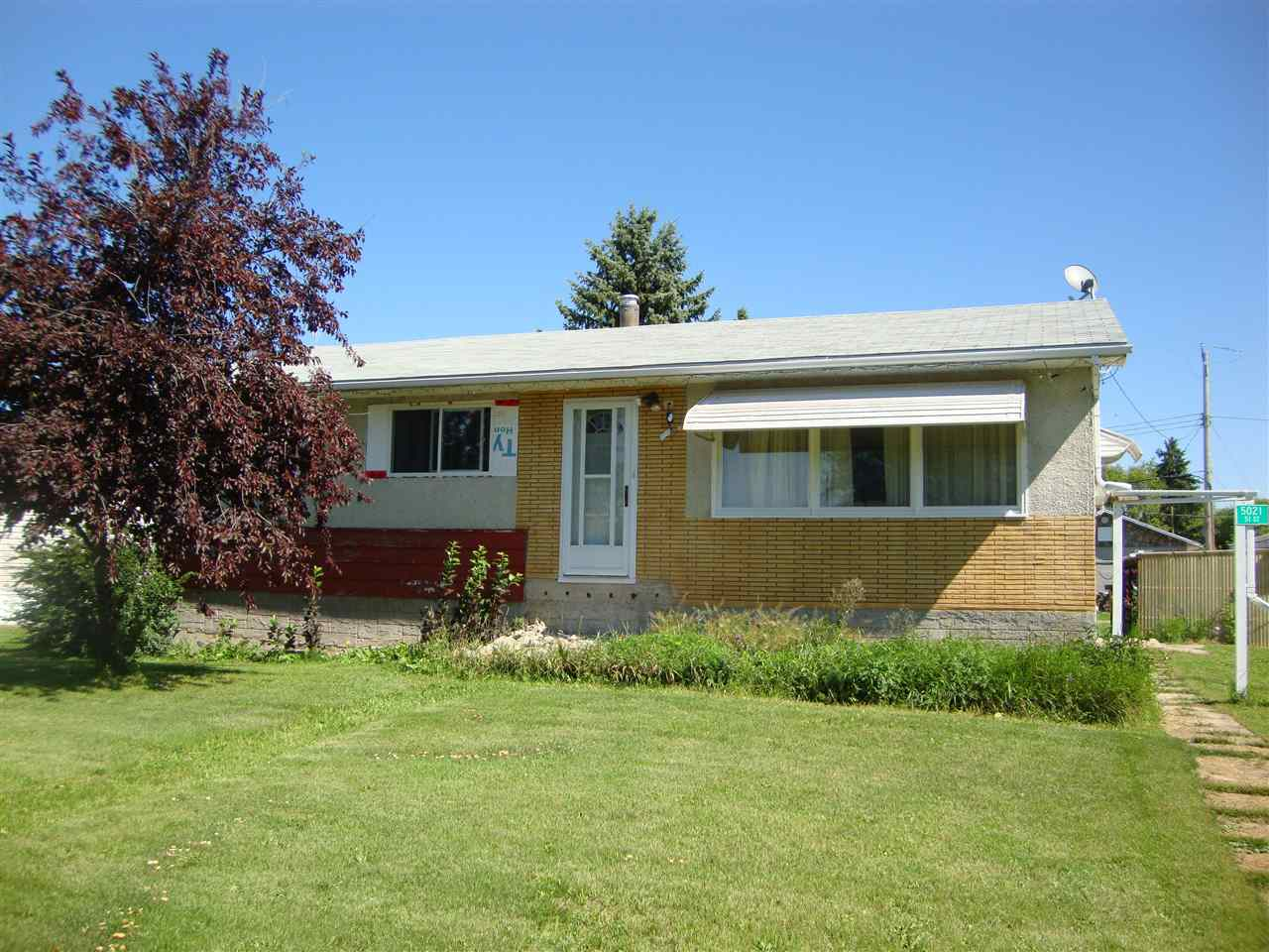 For Sale: 5021 51 Street, Newbrook, AB | 3 Bed, 1 Bath House for $115,000. See 12 photos!