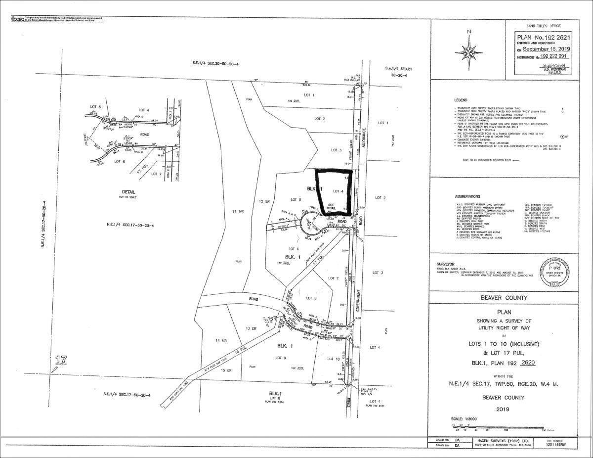 Home for sale at 50226 Range Rd Rural Beaver County Alberta - MLS: E4179955
