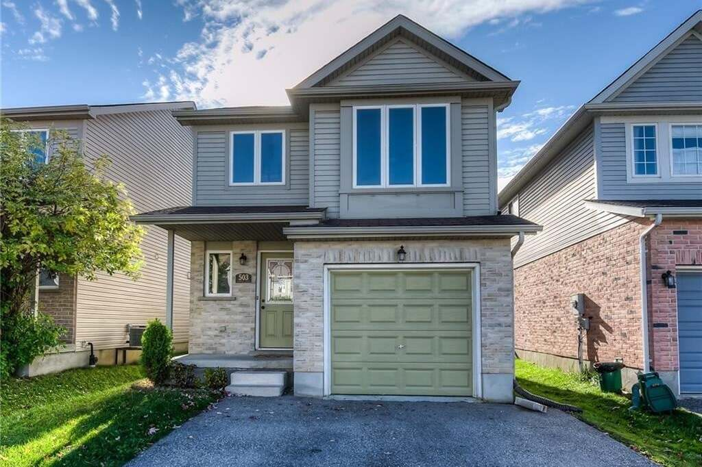 House for sale at 503 Chablis Dr Waterloo Ontario - MLS: 30809414