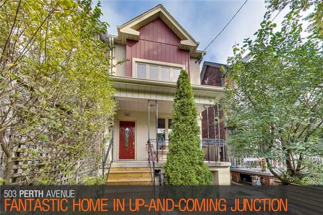 Townhouse For Sale At 503 Perth Ave Toronto Ontario