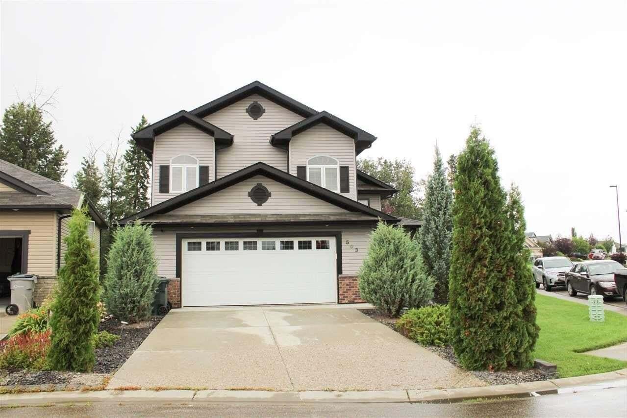 House for sale at 503 Westerra Bv Stony Plain Alberta - MLS: E4216723