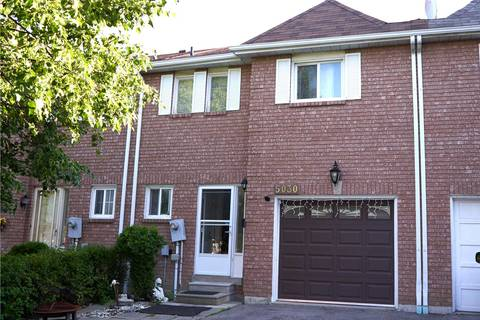 Townhouse for sale at 5030 Willowood Dr Mississauga Ontario - MLS: W4501472