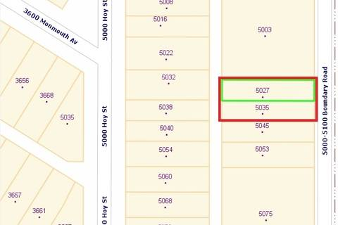 Residential property for sale at 5035 Boundary Rd Vancouver British Columbia - MLS: R2417855