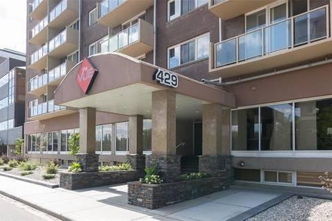 Condo for sale at 429 14 St Northwest Unit 504 Calgary Alberta - MLS: C4266475