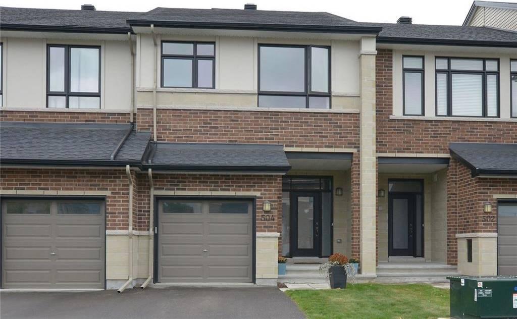 Townhouse for sale at 504 Stargazer Cres Ottawa Ontario - MLS: 1170665
