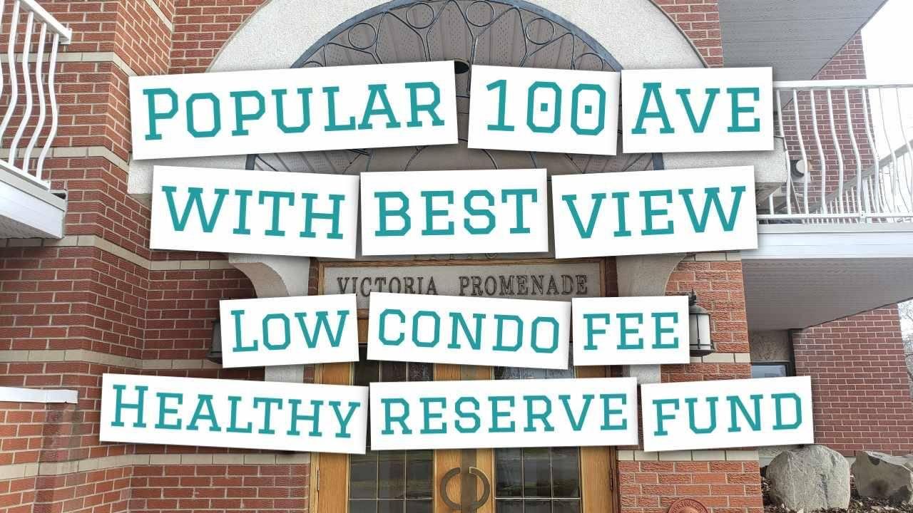 Condo for sale at 11716 100 Ave Nw Unit 505 Edmonton Alberta - MLS: E4178879
