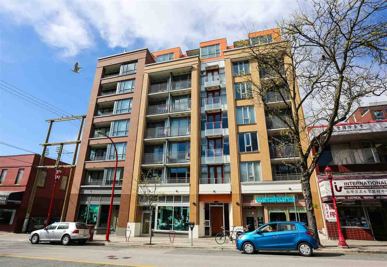 Buliding: 231 East Pender Street, Vancouver, BC