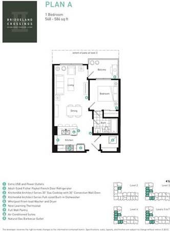 Condo for sale at 46 9 St Northeast Unit 505 Calgary Alberta - MLS: C4281520