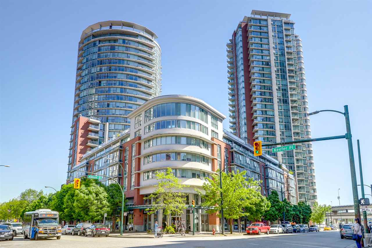 For Sale: 505 - 618 Abbott Street, Vancouver, BC | 1 Bed, 1 Bath Condo for $649,900. See 18 photos!