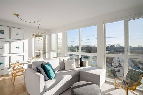 Condo for sale at 8580 River District Crossing Unit 505 Vancouver British Columbia - MLS: R2438195
